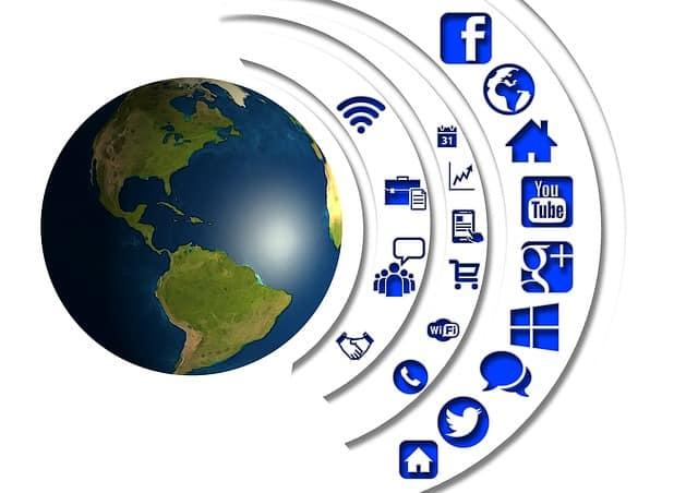 שיווק אינטרנט כדור הארץ מתפתח