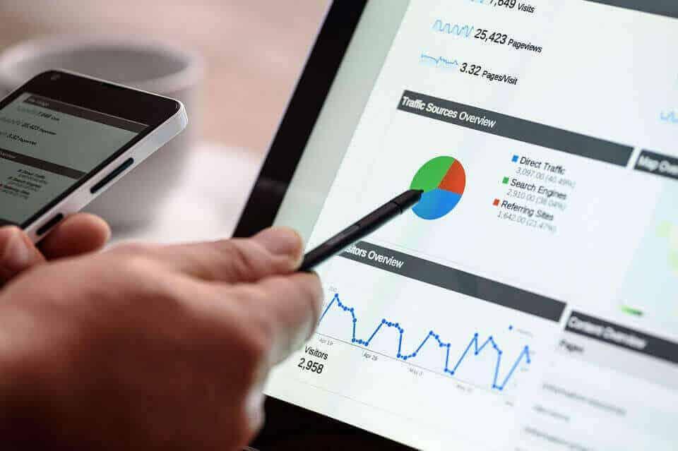 חלוקת עוגת סטטיסטיקה עם חברה לקידום אתרים יתרונות רבים