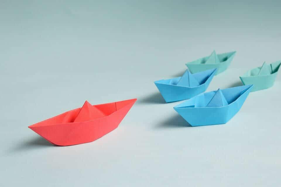 סירה מנייר אז אפשר גם קידום אתרים אורגני בזול